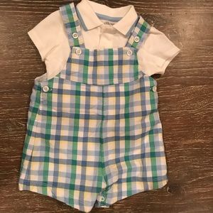 Little me baby outfit.